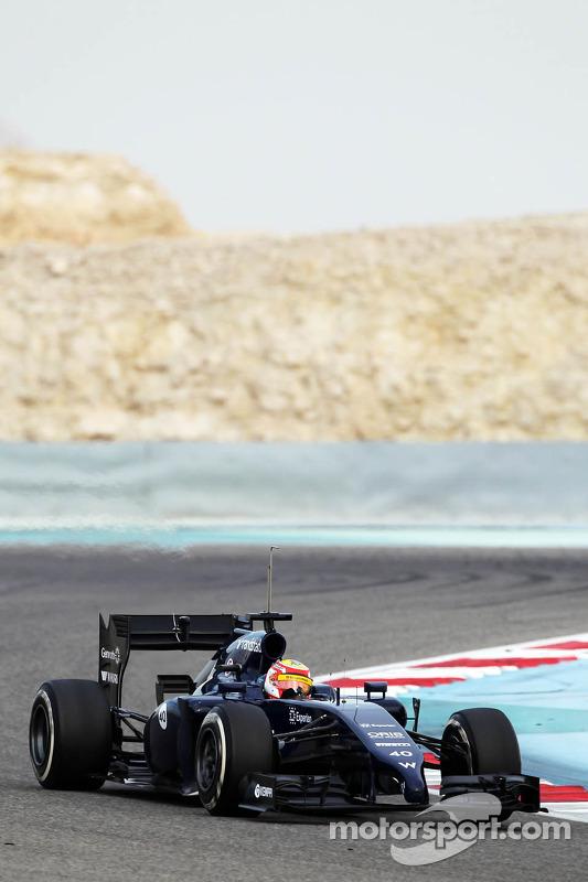 Felipe Nasr, Williams FW36