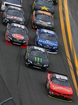 Dale Earnhardt Jr. leads