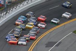 Final lap action