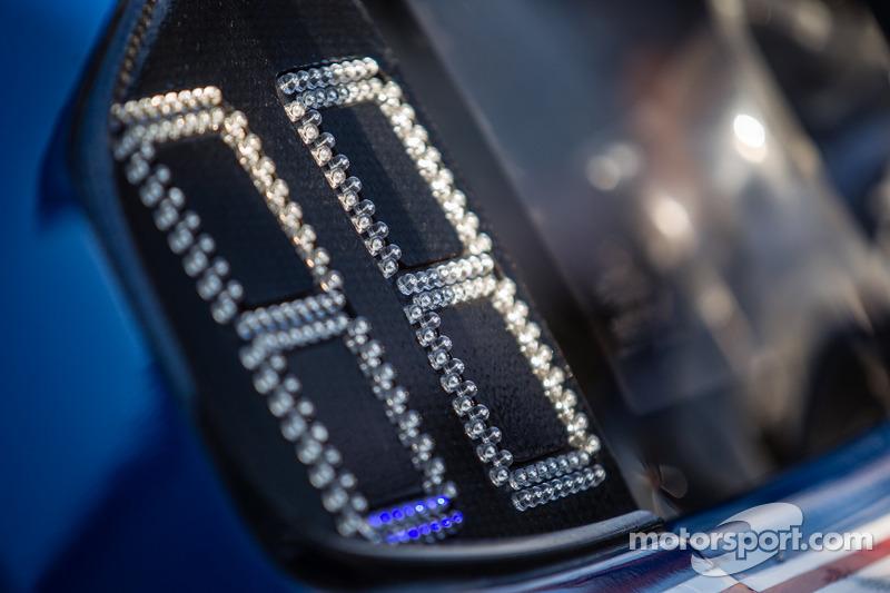 #33 Riley Motorsports SRT Viper GT3-R: número eletrônico