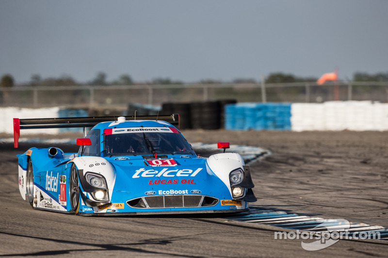 #01 Chip Ganassi Racing Riley DP 福特 EcoBoost: 斯科特·普鲁厄特, 梅莫·罗哈斯, 斯科特·迪克森