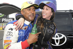 Alexis DeJoria and Antron Brown