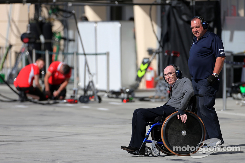 Sir Frank Williams, padrone Williams F1 Team