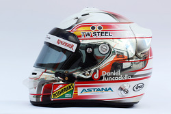Casque de Daniel Juncadella, Sahara Force India F1 Team