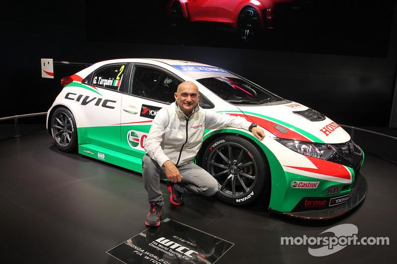 Honda Civic WTCC e Gabriele Tarquini
