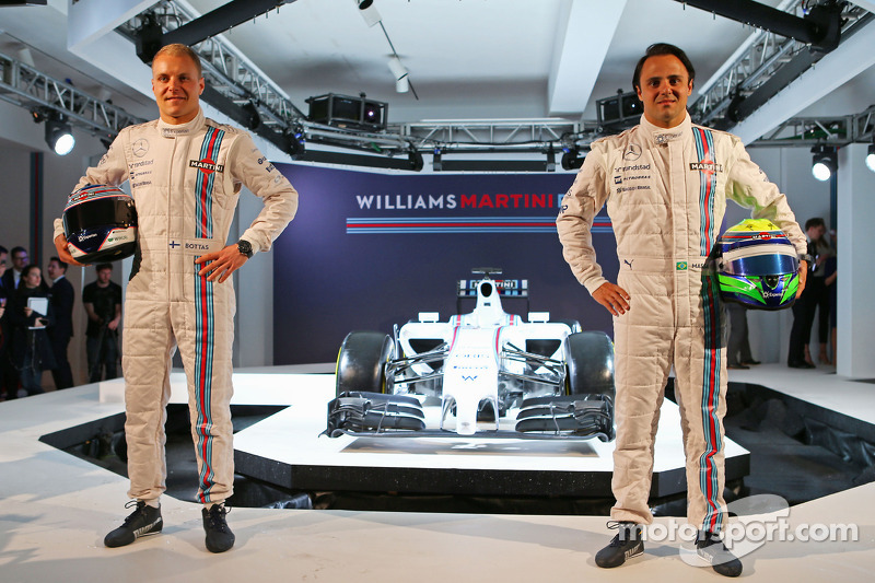 Felipe Massa ve Valtteri Bottas, Williams Martini F1 Takımı