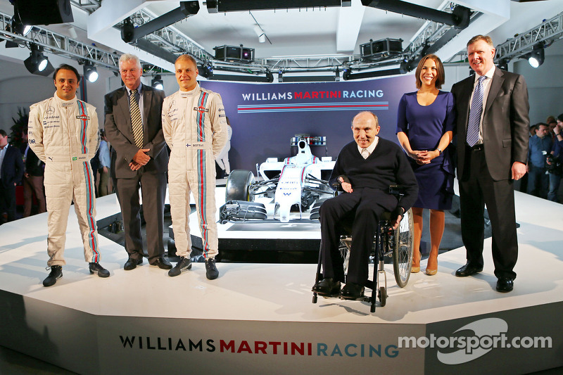 En 2014 sigue en Williams, su segunda temporada