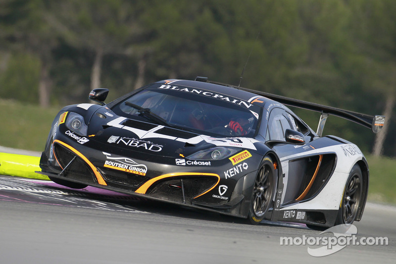 #15 Boutsen Ginion Racing McLaren MP4-12C
