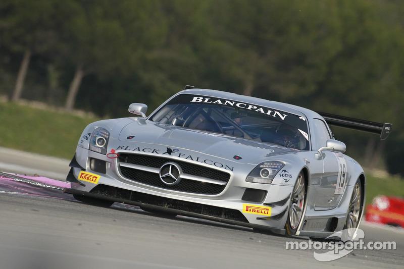 #19 Black Falcon Mercedes SLS AMG GT3