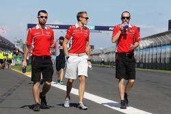 Max Chilton, Marussia F1 Team cammina per il circuito
