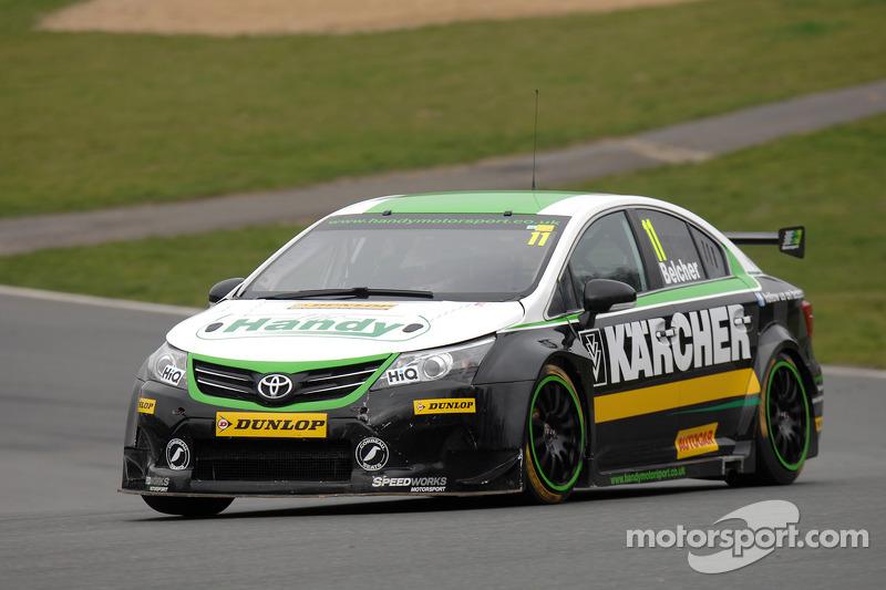 Simon Belcher, Handy Motorsport