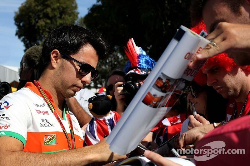 Sergio Pérez (MEX), Sahara Force India 13