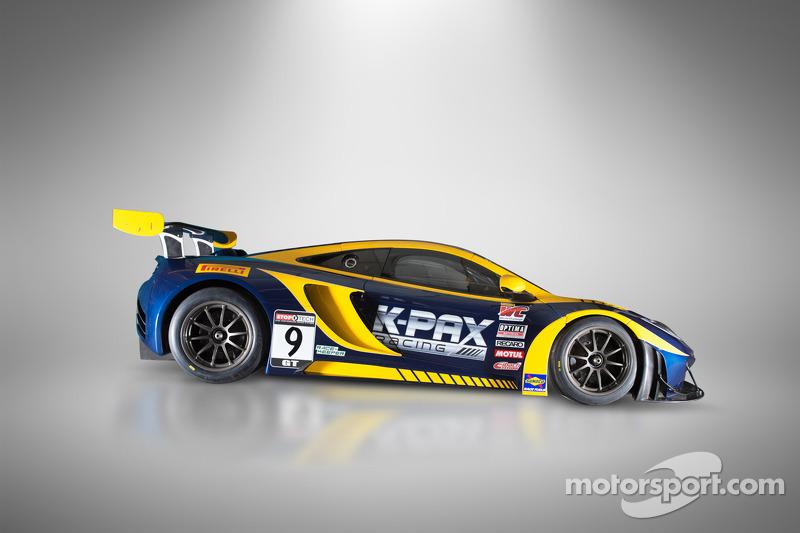 K-PAX Racing dévoile la McLaren 12C GT3