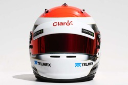 O capacete de Adrian Sutil, Sauber