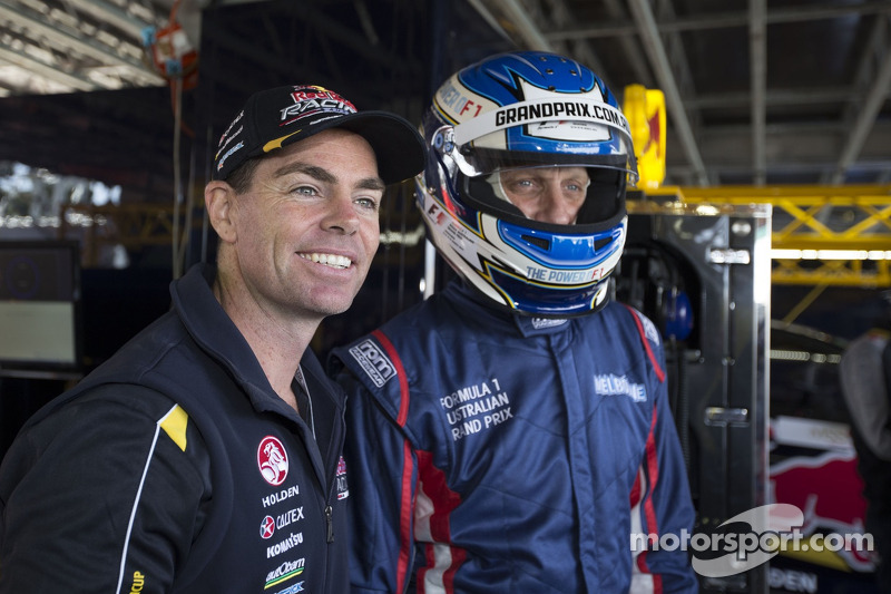 Craig Lowndes ve Tony Hawk