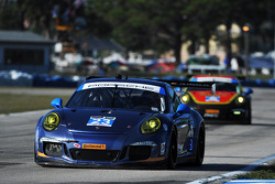 #23 Team Seattle / Alex Job Racing Porsche 911 GT America: Ian James, Mario Farnbacher, Alex Riberas