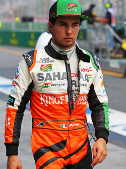 Sergio Pérez, Sahara Force India F1
