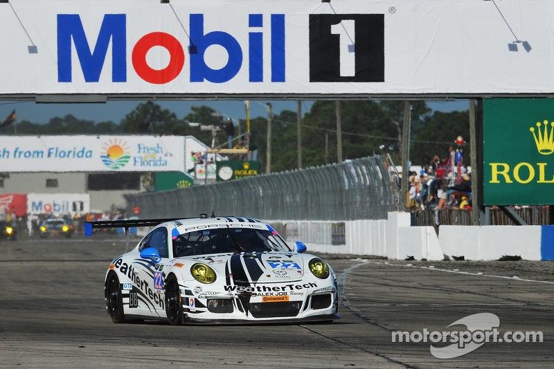 Via: #22 Alex Job Racing Porsche 911 GT America: Cooper MacNeil, Leh Keen, Philipp Frommenwiler