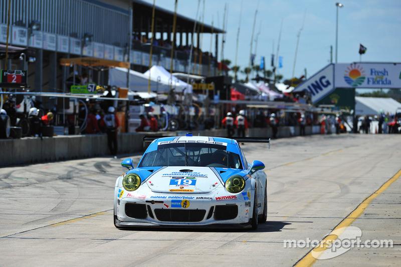 #19 Muehlner Motorsports America 保时捷 911 GT America: 埃尔·班博, 凯利·金普勒