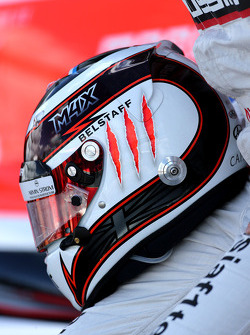 Helmet of Max Chilton, Marussia F1 Team