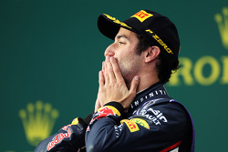 Podium: 2. Daniel Ricciardo, Red Bull Racing