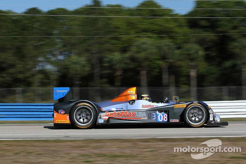 #08 RSR Racing ORECA FLM09: 克里斯·卡明, 阿历克斯·塔利亚尼, 鲁斯蒂·米切尔