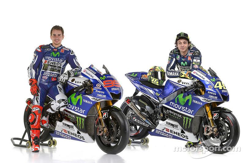 2014. Jorge Lorenzo et Valentino Rossi