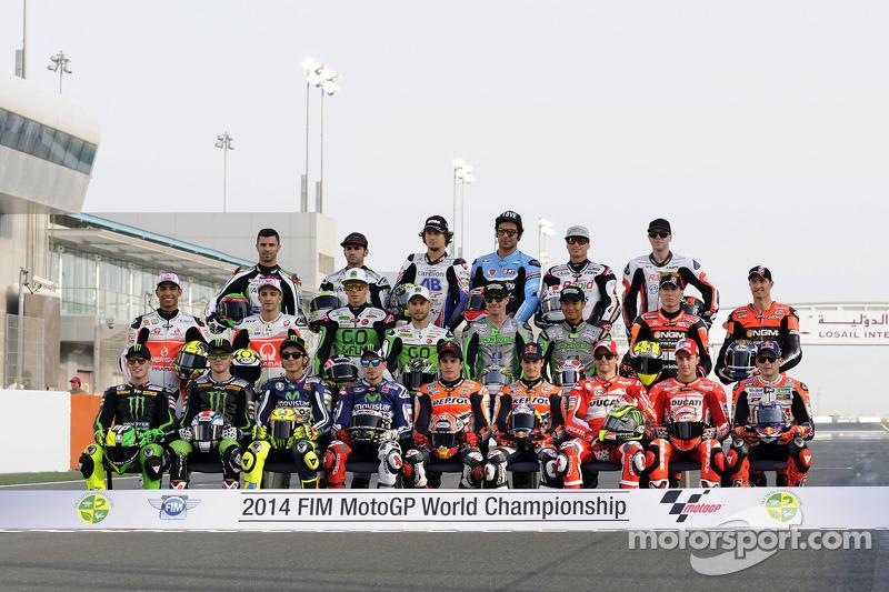 2014 foto di gruppo piloti
