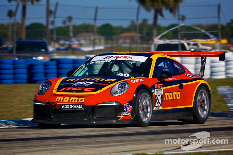 #29 NGT Motorsport Porsche 991 GT3 Cup Car: Eduardo Cisneros