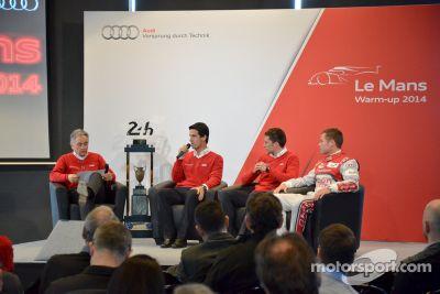 Warm-up Audi Le Mans