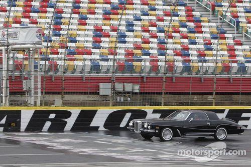 Dale Earnhardt Jr. drives Elvis' car