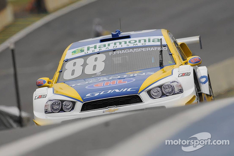 Felipe Fraga and Rodrigo Sperafico, Vogel Motorsport Chevrolet
