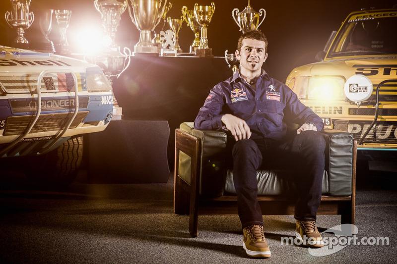 Cyril Despres joins Peugeot for the 2015 Dakar