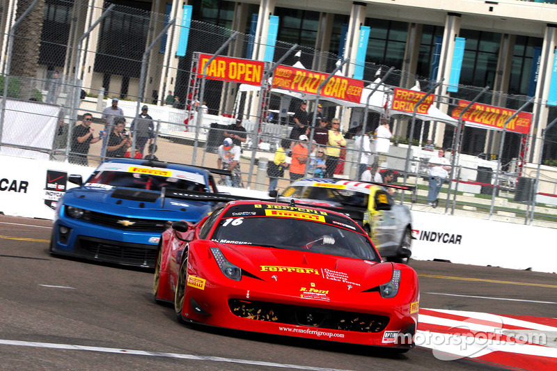 #16 R. Ferri Motorsports 法拉利 458 GT3 Italia: 尼克·曼库索