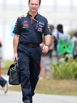 Christian Horner (GBR), Red Bull Racing, Sporting Director