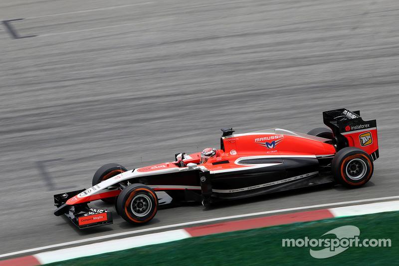 Jules Bianchi (FRA), Marussia F1 Team