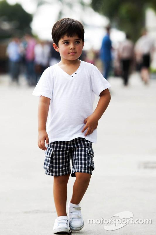Felipinho Massa, Felipe Massa'nın oğlu, Williams