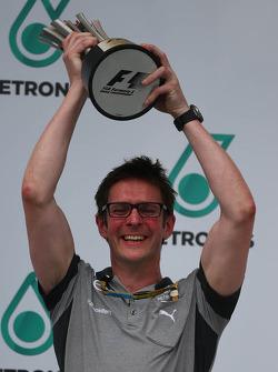Andrew Shovlin, Mercedes AMG F1 Engineer