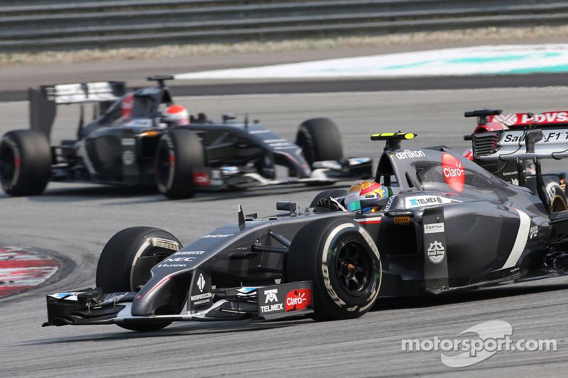 Esteban Gutierrez , Sauber F1 Takımı  30