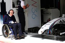 Frank Williams, dueño del equipo Williams