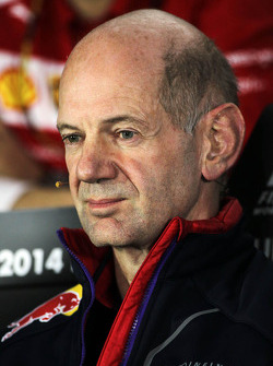 Adrian Newey, Red Bull Racing Baş Teknik Sorumlusu FIA Basın Konferansı'nda