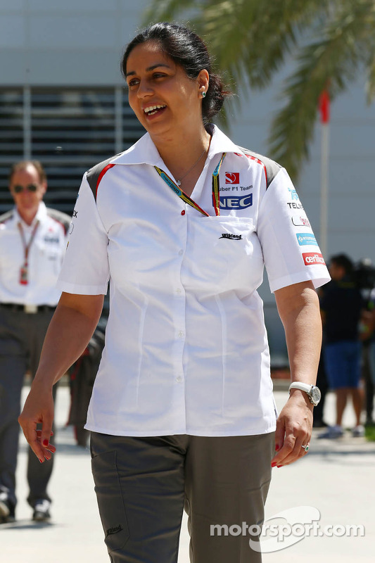 Monisha Kaltenborn, Sauber-Teamchefin