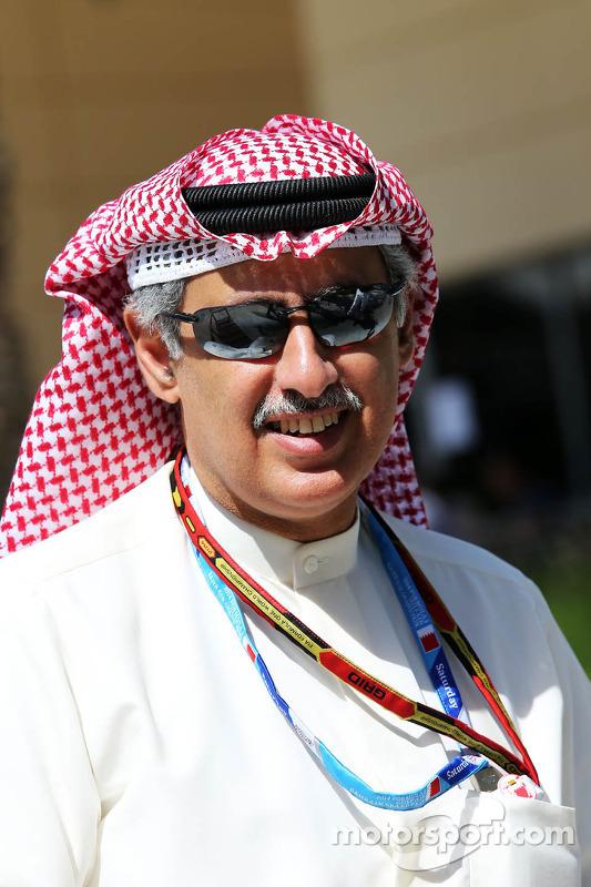 Zayed Rashed Al Zayani, Vorsitzender des Bharain International Circuit
