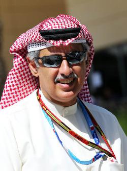 Zayed Rashed Al Zayani, Chairman of Bharain International Circuit