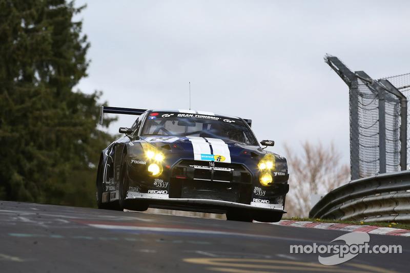 Tobias Schulze, Michael Schulze, Kazunori Yamauchi, Jordan Tresson, Schulze Motorsport, Nissan GT-R