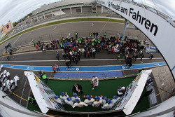 Pódio: segundo lugar Claudia Hurtgen, Jens Klingmann, Dominik Baumann, winners Maxime Martin, Uwe Al