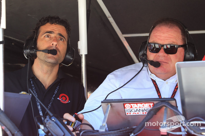 Dario Franchitti ve Chip Ganassi