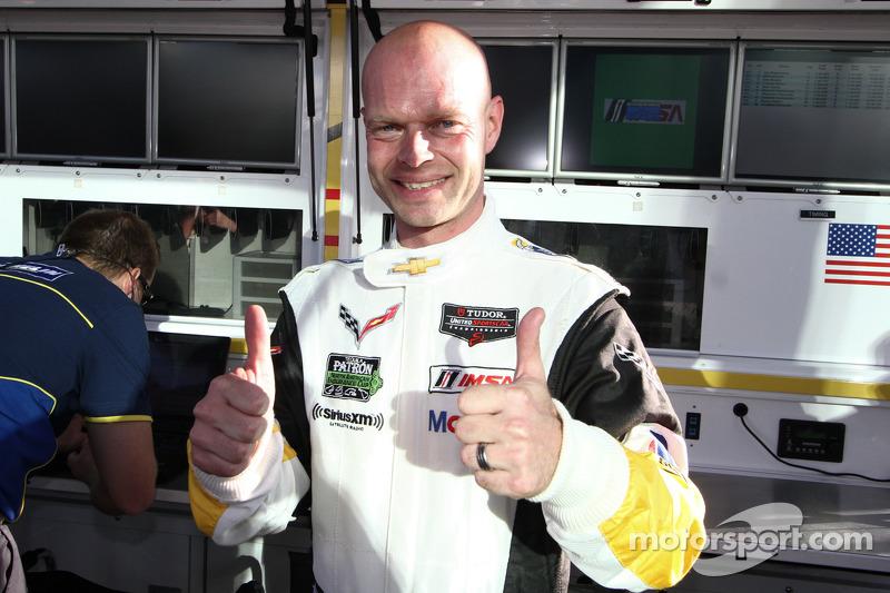 Jan Magnussen celebrala pole