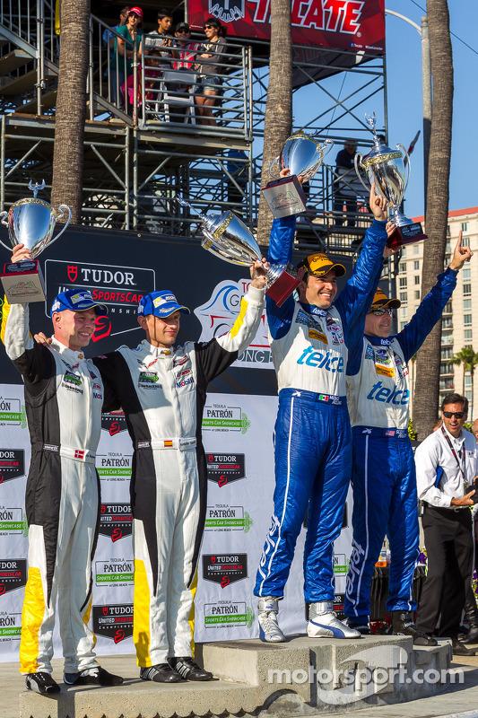 Vencedores da corrida Scott Pruett, Memo Rojas, Jan Magnussen, Antonio Garcia