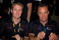 Kia Racing: Mark Wilkins and Nic Jonsson